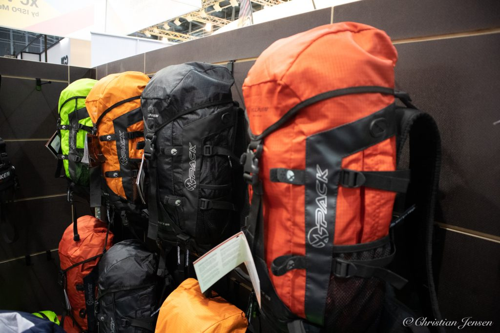 A selection of packs from Fjellpulken